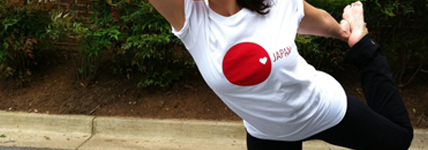 Yoga + Do-Gooding = Yin Yoga Benefiting {Heart Japan}